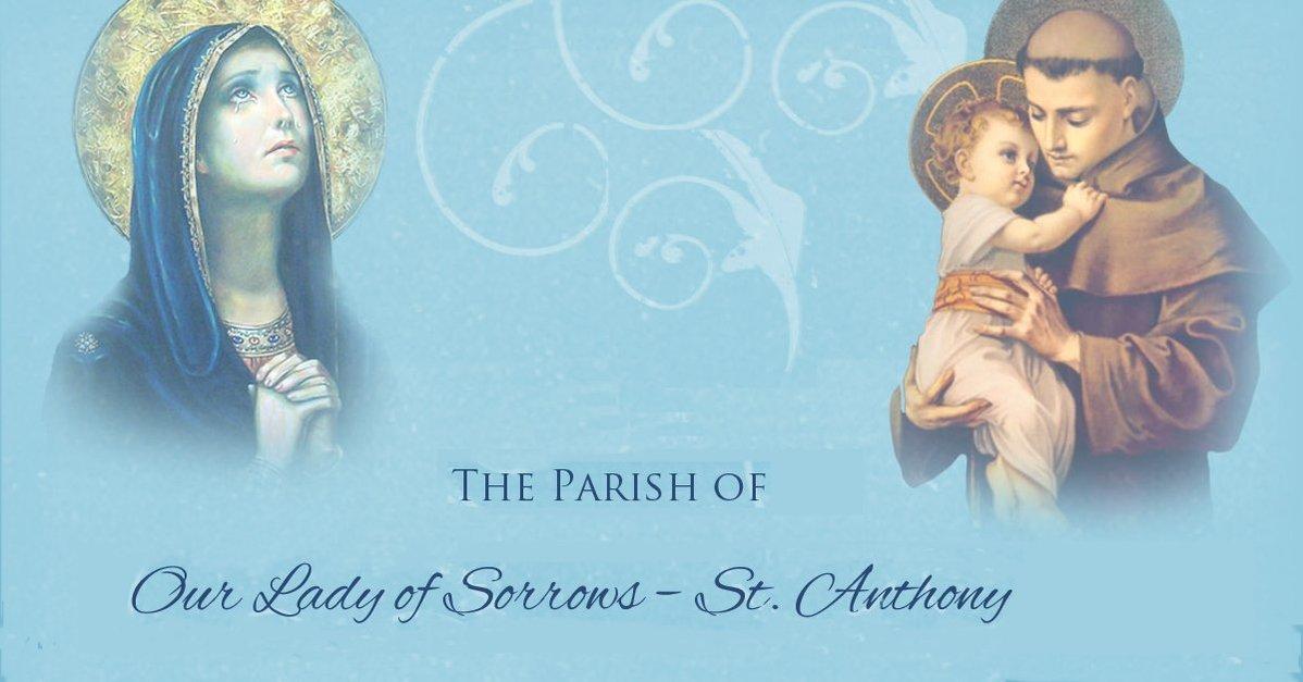 The Parish of Our Lady of Sorrows - St  Anthony | Hamilton, NJ